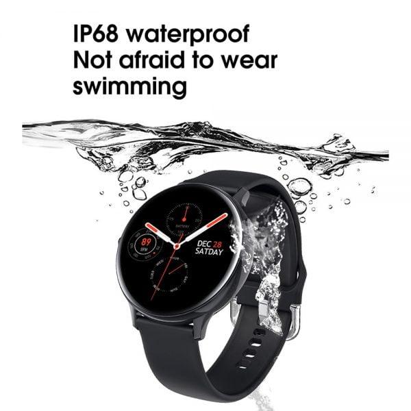 خرید ساعت هوشمند از علی اکسپرس LEMFO Smart Watch Men IP68 Waterproof Heart Rate Blood Pressure