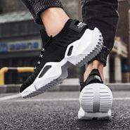 خرید کفش ورزشی از علی اکسپرس Men's Casual Shoes for Man Sneakers Durable Outsole Trainer Zapatillas