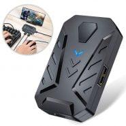 خرید گیم پد پابجی از علی اکسپرس Mobile Game Keyboard and Mouse Adapter, PUBG Call of Duty Controller Converter Wired/Wireless Connections for Android/iOS