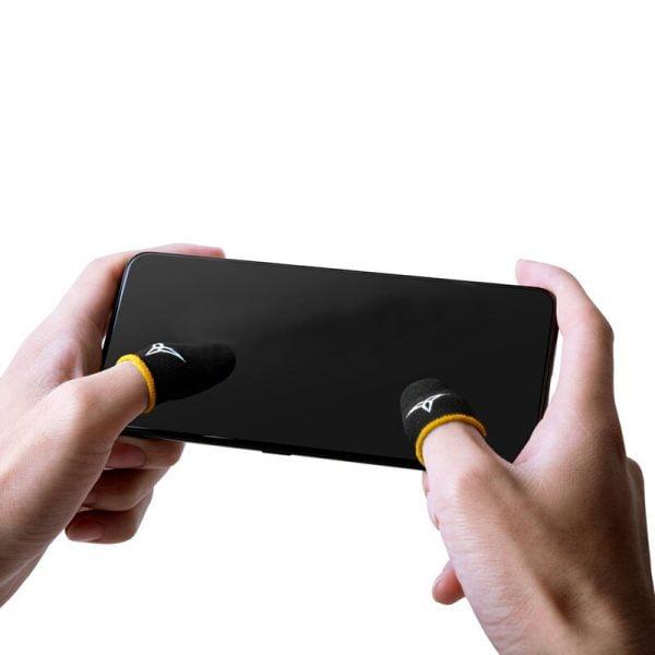 NEW Feelers 2 Finger Sleeve Beehive 2 Sleep-proof Sweat-proof Games Thumbs Finger Sleeve for PUBG Mobile Finger Sleeve
