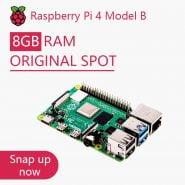 خرید برد رسپری Official Original Raspberry Pi 4 Model B