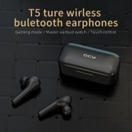 خرید هدفون QCY T5 Wireless Bluetooth Headphones V5.0 Touch Control –