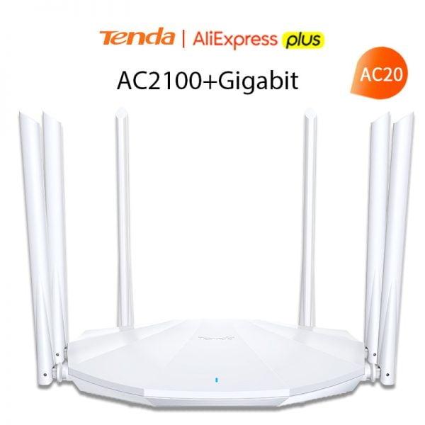 خرید روتر تندا Tenda AC2100 Wireless Router Gigabit Version Dual-Band 2.4G / 5G
