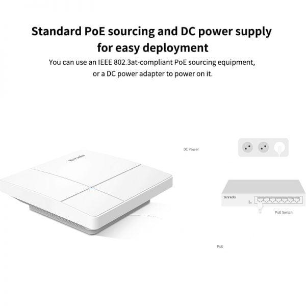 خرید اکسس پوینت تندا از چین Tenda i25 Wireless AP Gigabit Dual-Band 1350M 11AC Wave 2