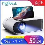 خرید پروژکتور ThundeaL TD60 Mini Projector Portable WiFi Android 6.0