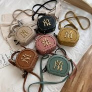 خرید کیف زنانه پولو VICUNA POLO Fashion Leather Womens Messenger Bag Vintage Small Round Crossbody