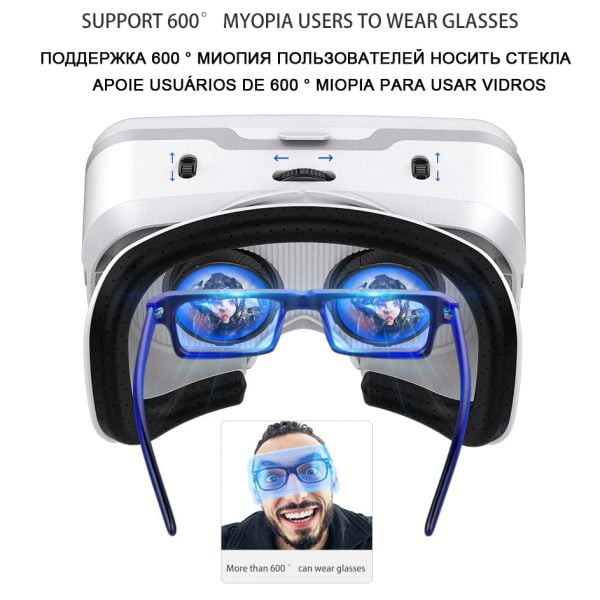خرید عینک واقعیت مجازی از علی اکسپرس VR Shinecon 10.0 Casque Helmet 3D Glasses Virtual Reality Headset For Smartphone Smart Phone Goggles Video Game Viar Binoculars