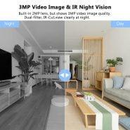 خرید دوربین تحت شبکه از علی اکسپرس Vstarcam 1080P IP Camera Wifi Camera Indoor