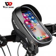 خرید هولدر گوشی دوچرخه WEST BIKING Bicycle Bag High Quality EVA Waterproof Top