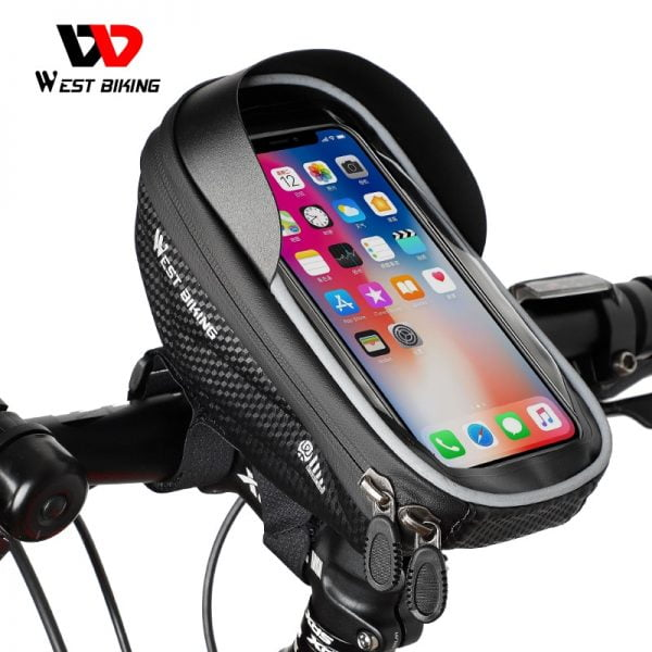 خرید هولدر گوشی دوچرخه WEST BIKING Bicycle Bag High Quality EVA Waterproof Top