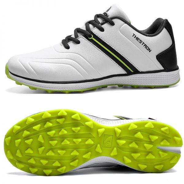 کفش گلف Waterproof Men Golf Shoes Professional Lightweight Golfer