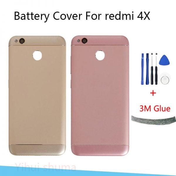 خرید درب پشت گوشی شیائومی ردمی 4 ایکس Xiaomi Redmi 4X Back Housing Battery Cover