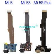 خرید قطعات گوشی شیائومی for Mi5 MI 5S Plus 5X Charging Port Flex Cable Replacement Parts USB Dock Charger Flex Cable For Xiaomi Mi5 Mi5S Plus