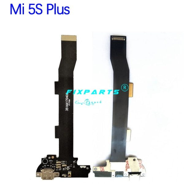 خرید قطعات گوشی شیائومی for Mi5 MI 5S Plus 5X Charging Port Flex Cable Replacement Parts USB Dock Charger Flex Cable For Xiaomi Mi5 Mi5S Plus