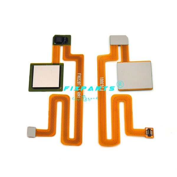 خرید سنسور اثر انگشت شیائومی می مکس for Xiaomi Mi MAX 3 FingerPrint Sensor Button Touch ID Scanner Key Flex Cable Ribbon For Xiaomi Mi Max 2 Home Button Replace