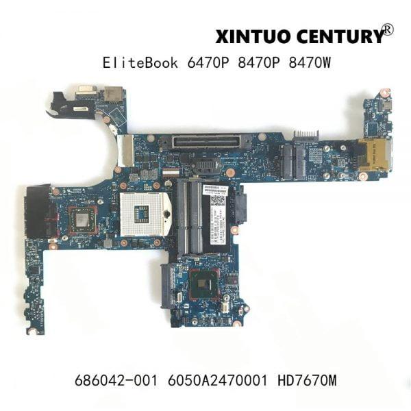 خرید مادربرد لپ تاپ اچ پی HP EliteBook 6470P 8470P 8470W Laptop motherboard 6050A2470001 Mainboard SLJ8A 216-0833018