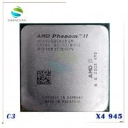 خرید سی پی یو از علی اکسپرس AMD Phenom X4 945 X4-945 Quad-Core CPU HDX945WFK4DGM Socket AM3