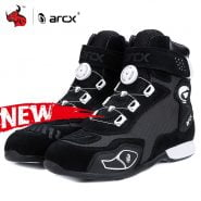 خرید کفش موتور ARCX Motorcycle Boots Botas Moto Men Motor Motocross Shoes Motorbike