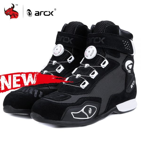 خرید کفش موتور ARCX Motorcycle Boots Botas Moto Men Motor Motocross Shoes Motorbike