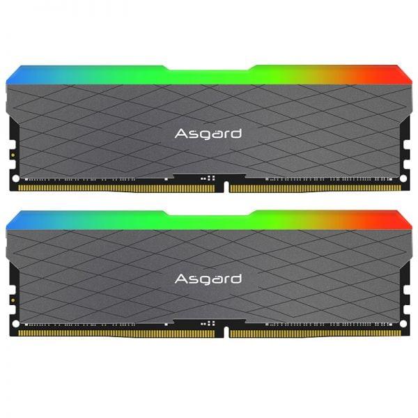 خرید رم از علی اکسپرس Asagrd Loki w2 seires RGB 8GBx2 16gb 32gb 3200MHz DDR4