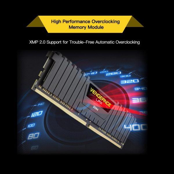 خرید رم از علی اکسپرس اCORSAIR Vengeance LPX 8GB 16GB DDR4 PC4 2400Mhz 3000Mhz 3200Mhz