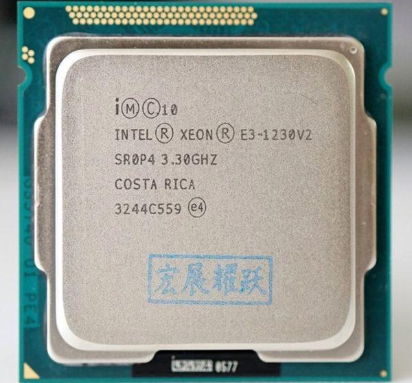 خرید سی پی یو اینتل از علی اکسپرس E3-1230 1240 1220 1245 1270 1231 V2 V3 CPU 1155 pin