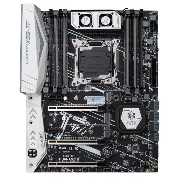 خرید مادربرد از علی اکسپرس HUANANZHI X99 motherboard with dual M.2 NVME slot support both DDR3 and DDR4 LGA2011-3