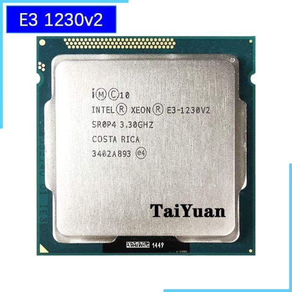 خرید سی پی یو از علی اکسپرس Intel Xeon E3-1230 v2 E3 1230v2 E3 1230 v2 3.3 GHz Quad-Core