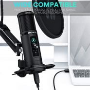 خرید میکروفون حرفه ای MAONO PM422 USB Microphone Zero Latency Monitoring 192KHZ/24BIT