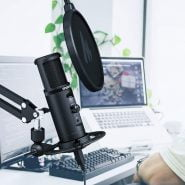 خرید میکروفون حرفه ای MAONO PM422 USB Microphone Zero Latency Monitoring 192KHZ/24BIT