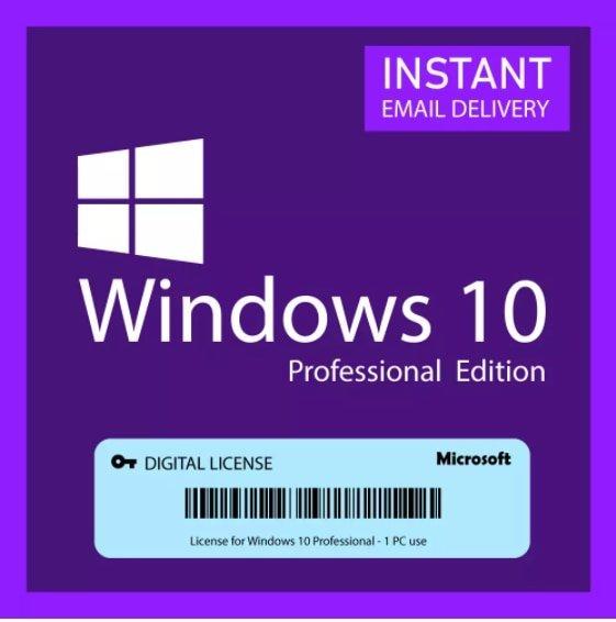 خرید لایسنس ویندوز 10 حرفه ای Microsoft Windows 10 PRO Professional