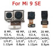 دوربین گوشی های شیائومی Original Front and Rear Back Camera For Xiaomi Mi 9 Mi9 SE Lite 9SE Main Facing Camera Module Flex Cable Replacement Spare Parts