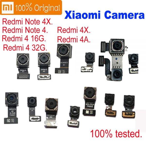 دوربین گوشی های شیائومی Original Front or Big Main Back Rear Camera Flex Cable For Xiaomi Mi Max2 Redmi Note 5 4 Pro Prime 4A Redmi note 4 4X MiA1 mi5X