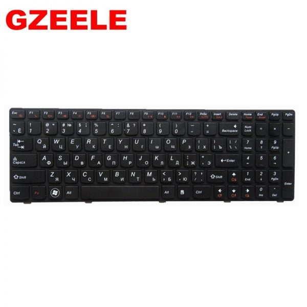 خرید کیبورد لپ تاپ لنوو از علی اکسپرس RU black New laptop keyboard FOR LENOVO IdeaPad G560 G560A G565 G560L G570 Z560 Z560A Z560G Z565 G575 G780 G770