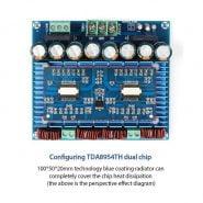 برد آمپلی فایر TDA8954TH Class D High Power Dual-Channel Digital Audio Amplifier Board 420W