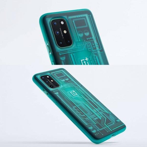 خرید درب باتری گوشی وان پلاس 8 تی  Original OnePlus 8T Case Sandstone Karbon Bamper