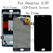 خرید تاچ و ال سی دی گوشی وان پلاس 3 LCD display Touch screen digitizer replacement For Oneplus A3010 A3000 A3003 OLED LCD Repair kit