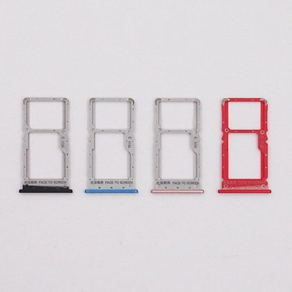 خرید اسلات سیم کارت نوت 6 پرو BaanSam New SIM Card Tray Slot For Xiaomi Redmi Note 6 Pro