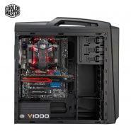 خرید خنک کننده گیمینگ از علی اکسپرس Cooler Master V8 GTS CPU Cooler 8 Heatpipes Double 140mm LED Fan PC Radiator For 2066 1156 AM4 AM3 3