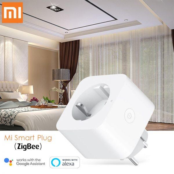 خرید دوشاخه هوشمند شیائومی EURO Version Xiaomi Mi Smart WiFi Socket Plug