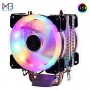 خرید خنک کننده سی پی یو از علی اکسپرس Efficient Cooling Universal CPU Cooler Fan 3pin For Intel LGA 1150 1151 1155 1156 775 I3 I5 I7 AMD AM2 AM3 AM4