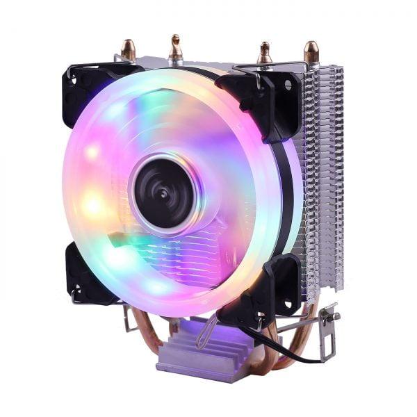 خرید خنک کننده سی پی یو از علی اکسپرس Efficient Cooling Universal CPU Cooler Fan 3pin For Intel LGA 1150 1151 1155 1156 775 I3 I5 I7 AMD AM2 AM3 AM4