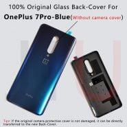 خرید درب باتری گوشی وان پلاس 7 For OnePlus 7 Pro,100% Original Battery Glass Back Cover Replace the back case for oneplus7/7T