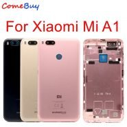 خرید درب باتری گوشی شیائومی می ا For Xiaomi Mi A1 Battery Cover MiA1 Rear Door Back Housing Case For Xiaomi Mi 5X A1
