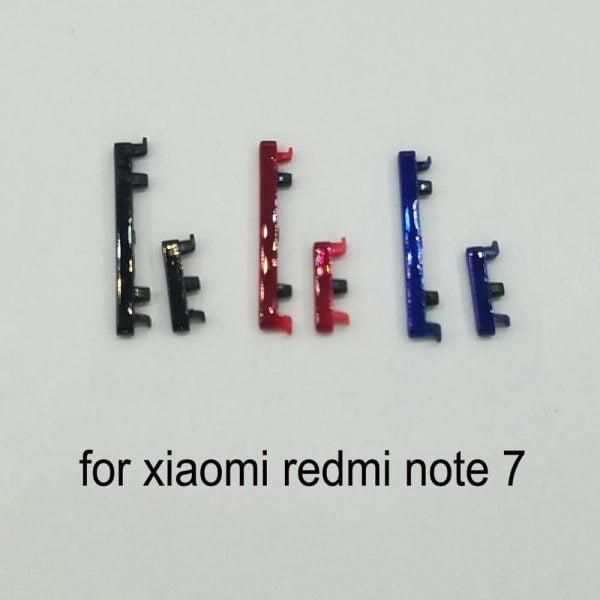 خرید کلید صدا و پاور گوشی ردمی نوت 7 از علی اکسپرس For Xiaomi Redmi note 7 Original Phone Housing Frame