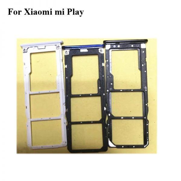 خرید اسلات سیم کارت گوشی می پلی For xiaomi mi play New Original Sim Card Holder