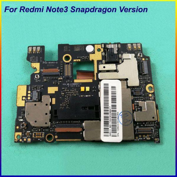 خرید برد اصلی گوشی ردمی نوت 3 پرو از علی اکسپرس Global multilingual Original Working Mainboard Motherboard flex Circuits Cable FPC For Xiaomi Hongmi Redmi Note 3 Note3 Pro
