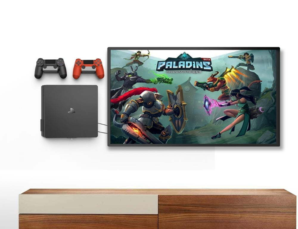 ps4 slim wall mount5
