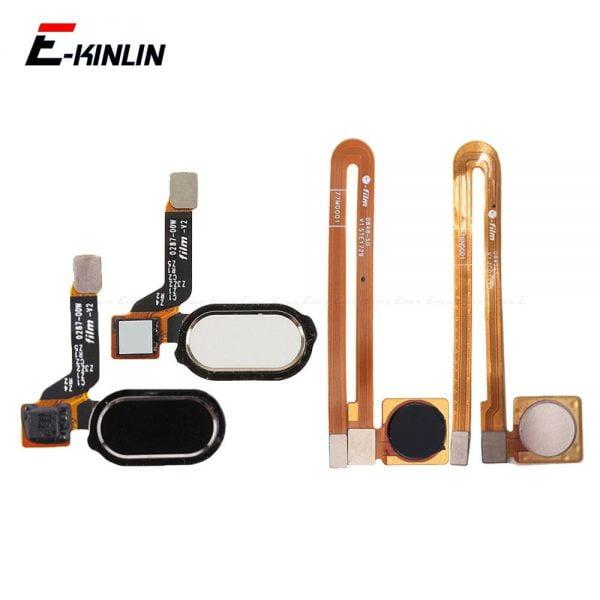 خرید کلید و سنسود اثر انگشت گوشی های وان پلاس Home Button Fingerprint Recognition Sensor Menu Return Button Flex Cable Ribbon For OnePlus 3 3T 5 5T 6