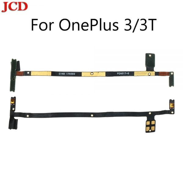 خرید کلید صدا و پاور گوشی های وان پلاس از چین JCD Side Key Power Volume Button Flex Cable Replacement For OnePlus 1 One 2 3 3T A3000 A3003 5 5T 6 6T X